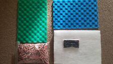 * * d'eau douce filtre externe Upgrade Kit - 3 kg Media, mousses + boules de début de filtre
