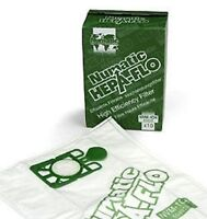 10 GENUINE NUMATIC  NVM-1CH HEPAFLO VACUUM CLEANER BAGS NUMATIC HENRY JUNIOR