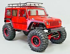 Axial JEEP WRANGLER  2.2 Beadlock CRAWLER Wheels & TIres 130mm -RED-