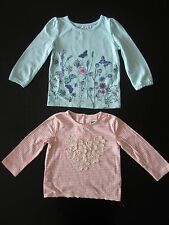 baby Gap & Next baby Girl 2 Tops, Size: 9-12 Months
