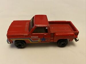Chevrolet Red Truck Cosmos Toy Car Made In Hong Kong