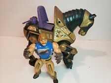 Vintage Masters of the Universe NIGHT STALKER War Horse and Rio Blast Figure