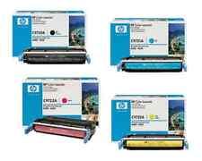 4 ORIGINAL HP C9720A C9721A C9722A C9723A 641A TONERS 4600 4610 4650 FASTPOSTAGE