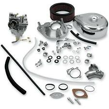 S&S SUPER E SERIES COMPLETE CARB KIT SOFTAIL TOURING DYNA 1984-92 HARLEY CUSTOM