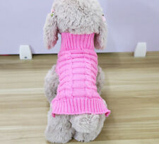 Dog Sweater Small Meidum Warm Coat Hoodie for Cat Yorkshire Terrier Maltese