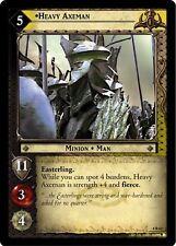 LoTR TCG Siege of Gondor Heavy Axeman FOIL 8R62