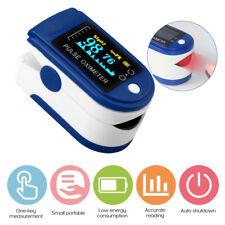 NHS Pulse Oximeter Blood Oxygen Saturation SpO2 Meter PR Fingertip Oxymeter UK