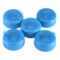 5pcs Replacement Water Bottle Dew Cap Gallon Drinking Water Bottle Snap On 55mm