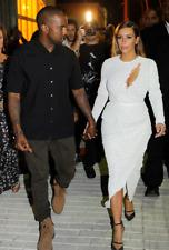 Rare Proenza Schouler Lace Embroidered Dress Seen On Kim Kardashian