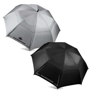 Sun Mountain Auto 68 Inch Umbrella Black New 2021 - 210910