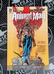 Animal Man New 52 Volume 1 The Hunt VF/NM 9.0 Jeff Lemire DC Comics