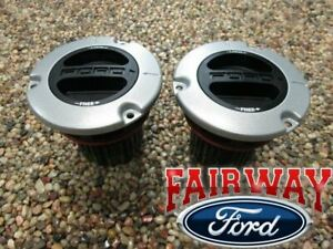 05 thru 16 Super Duty F250 F350 F450 F550 OEM Ford MANUAL Locking Front Hub PAIR