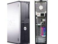 Dell Desktop Intel PC COMPUTER - 4GB RAM-160GB HDD WINDOWS XP PRO Parallel Port