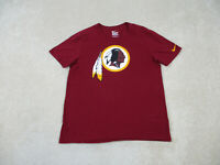 Nike Washington Redskins Shirt Adult Large Red Yellow NFL Football Mens B70