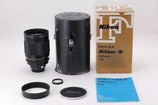 Near MINT Nikon Reflex NIKKOR 500mm f/8.0 Ai Telephoto MF Lens Boxed from Japan