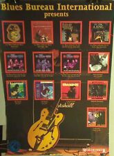 plakat poster Blues Bureau 42x60  Pat Travers Albert King i in.  (dancop)