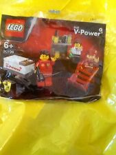 Lego Shell V Power set Pit Crew 30196 Brand New in Sealed Polybag