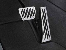 BMW OEM Aluminum Pedals Set Automatic 2005-2016 E90, E60, E83 X3 35002213212