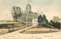 Court House Hermann Missouri 1907 Postcard Souvenir undivided 649