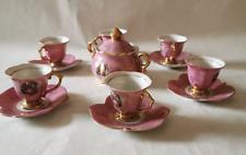 Servizio da tè originale Giapponese dipinto a mano