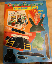 Vintage 1959 Captain Kangaroo's Treasure House Punch Out Book