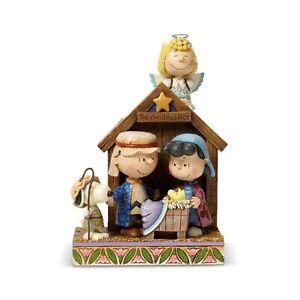 Dept 56 Peanuts Jim Shore The Christmas Play 4042370