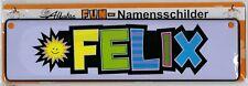 """Fun-Namensschild """"FELIX"""""""