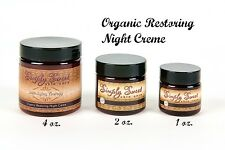 Anti Aging 1 Oz Night Cream Moisturizer Sweet Face Mineral Skin Wrinkle Cell