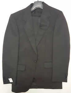 Ex Hire Black Evening Tuxedo Suit  £ to clear sizes 36 to 54 A1 cond Scottish