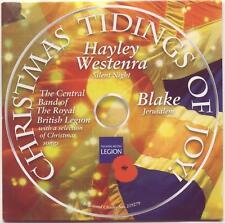CHRISTMAS TIDINGS OF JOY: HAYLEY WESTENRA, BLAKE, ROYAL BRITISH LEGION BAND