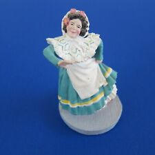 Franklin Mint Wizard Of Oz Munchkin Woman Figurine *Loews - Mgm*1988*Nice*
