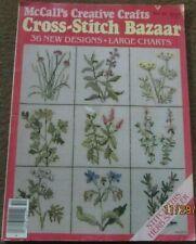 McCall's Creative Crafts Cross-Stitch Bazaar Vol. 10, June 1984, 36 Designs