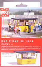 H0 BUSCH DDR Kiosk Zeitungskiosk Post Zeitung Verkauf Lotto Postkarten # 1380