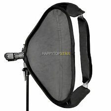 "80cm x 80 cm 32 x32""Easy Folded Bowens Mount Softbox Portable Speedlight Flash"