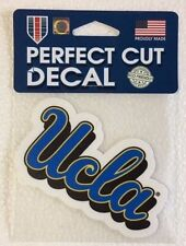 "UCLA Bruins 4"" x 4"" Logo Truck Car Auto Window Die Cut Decal New! Team Colors"