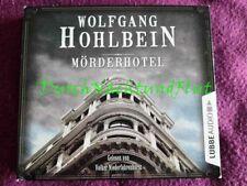 CD HÖRBUCH KRIMI THRILLER   WOLFGANG HOHLBEIN   MÖRDERHOTEL