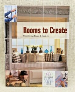 Rooms to Create: Decorating Ideas & Projects (2004, Hardcover)