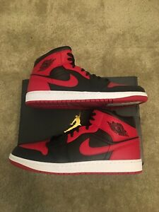 *New* [sz.14M U.S.] Nike Air Jordan 1 Mid Banned 2020 554724-074