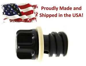 Cooler Drain Plug & Gasket Assembly for Yeti, RTIC, ORCA, OVO, Bird Dog Coolers