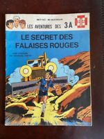 Journal Tintin - Les 3A - Le secret des falaises rouges - EO 1969 - TTBE!!!