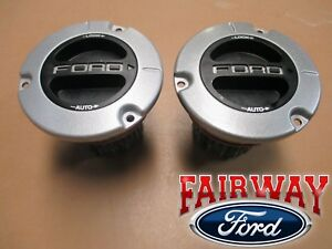 11 thru 16 Super Duty F250 F350 F450 F550 OEM Ford AUTO Locking Front Hub PAIR