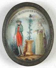 """Allegory of French Revolution"", Dutch miniature, early 1790s"