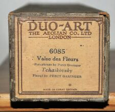 DUO-ART Reproducing Pianola Roll 6085 WALTZ OF THE FLOWERS p/b Percy Grainger
