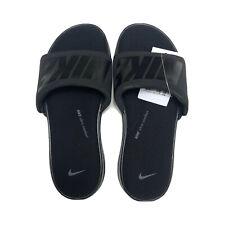 Nike Ultra Comfort 3 Slides Memory Foam Men's 8 Slides Black Dark Grey AR4494002