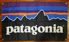 Patagonia Outdoor Clothing Gear 3x5 Flag Banner Promotional Man Cave Garage