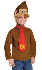 Donkey Kong Kit Tie Child Costume Gorilla Style Headpiece Disguise