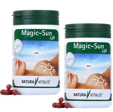 Natura Vitalis® 2x Magic-Sun Lift  480 Bräunungskapseln - natürliche Bräune