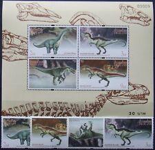 Thailand -1997-Dinosaurus -4St.+1 M/Sh. MNH, TH 039