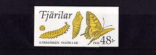 Svezia - 1993 Libretto di farfalla-U/M-SG 1694-7 x 2