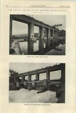 1925 Chancy-pougny Hydroelectric Power Station 3 Downstream Barrage
